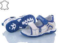 Детские сандалии Clibee для мальчика ,размеры 26, 27,  29, 30, 31(молочный-синий)