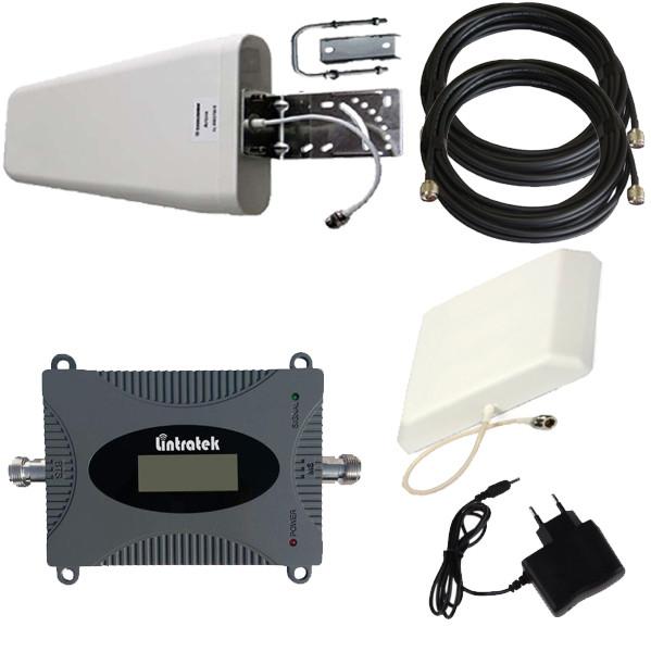 Усилитель сигнала мобильной связи GSM 900 МГц Репитер Repeater Комплект Lintratek KW16L-GSM + Подарок +Скидка