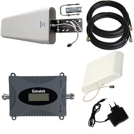Усилитель сигнала мобильной связи GSM 900 МГц Репитер Repeater Комплект Lintratek KW16L-GSM + Подарок +Скидка, фото 2