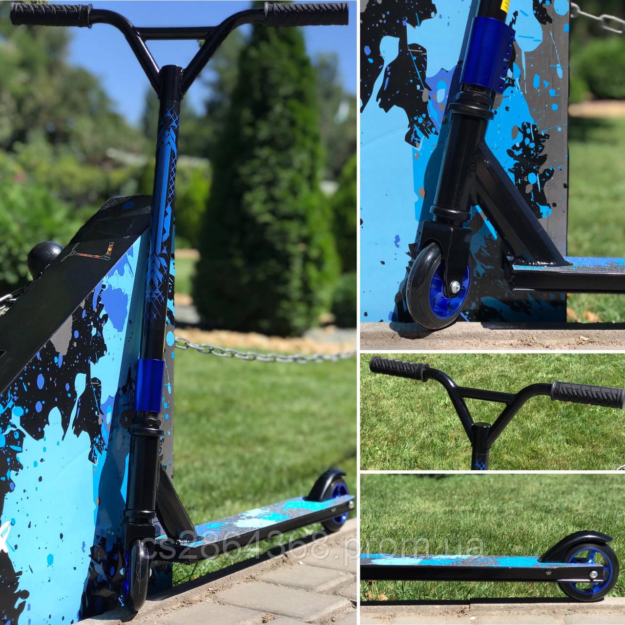 Самокат трюковый Scooter Show Yourself Blue: 5+,  ABEC-11