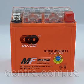 Аккумулятор мото Outdo 5Ah YTX5L-BS GEL