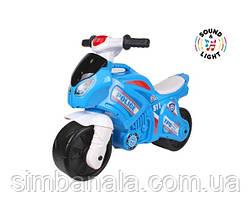 Детский толокар-мотоцикл ТехноК