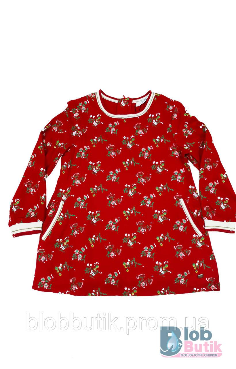 Сукня червона для дівчинки.