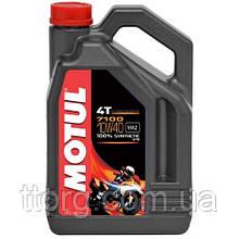 Моторное масло Motul 7100 4T 10W-40 (4л) 104092
