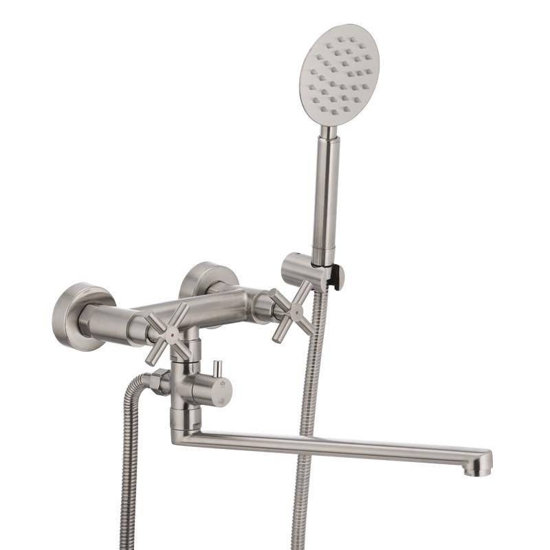 Смеситель для ванны MIXXUS DVE-006 (SS2824)