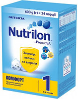 Nutricia Смесь Nutrilon Комфорт 1 Pro Nutra+ 600г (картон) Суміш молочна суха