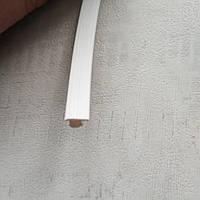 Заглушка паза штапика, заглушка домохозяйки 100см (1м) белый цвет