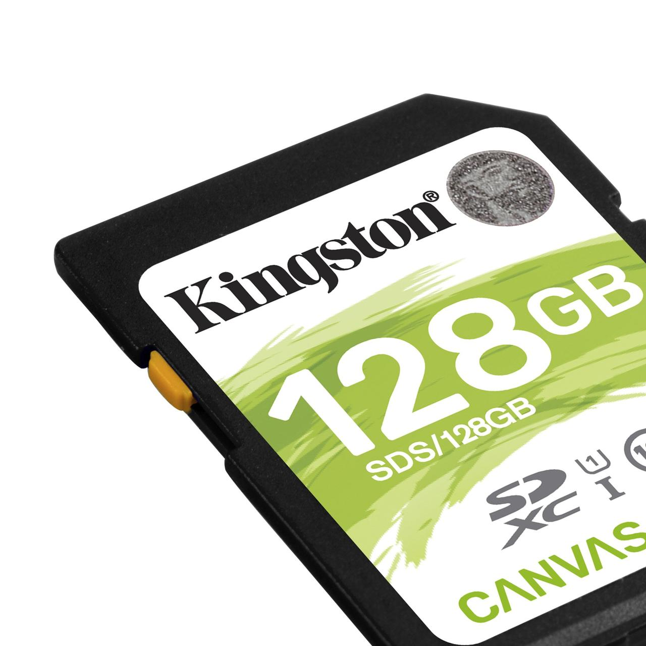 Kingston SDXC 128GB Canvas Select Class 10 UHS-I U1 (SDS/128GB)
