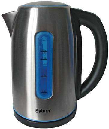 Электрочайник Saturn  ST-EK0015_blue, фото 2