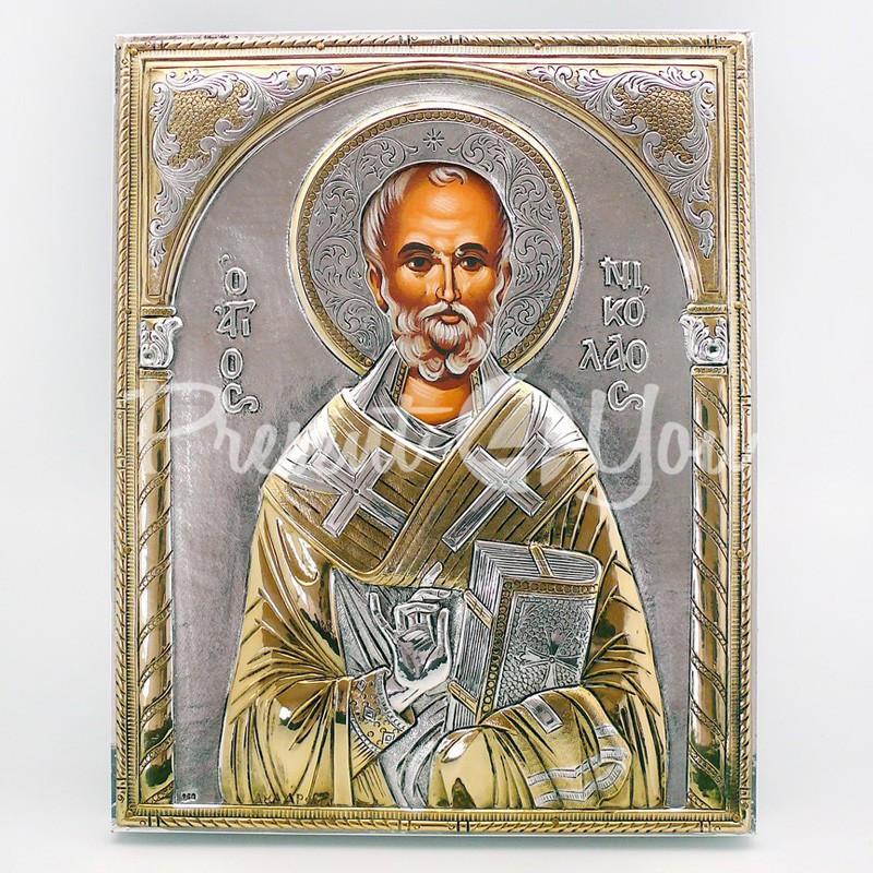 Икона «Святой Николай Чудотворец», 18х23 см.