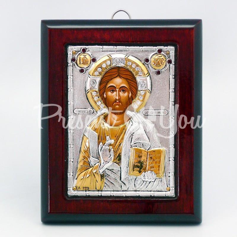 Икона «Иисус Христос», 10х12 см.