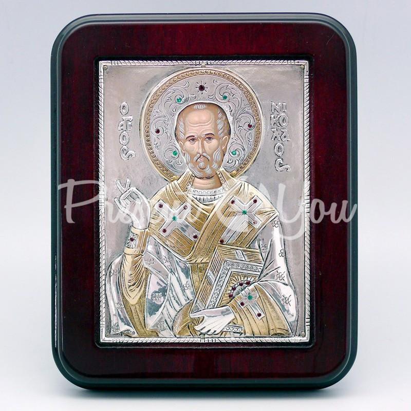 Икона «Святой Николай Чудотворец», 14х18 см.