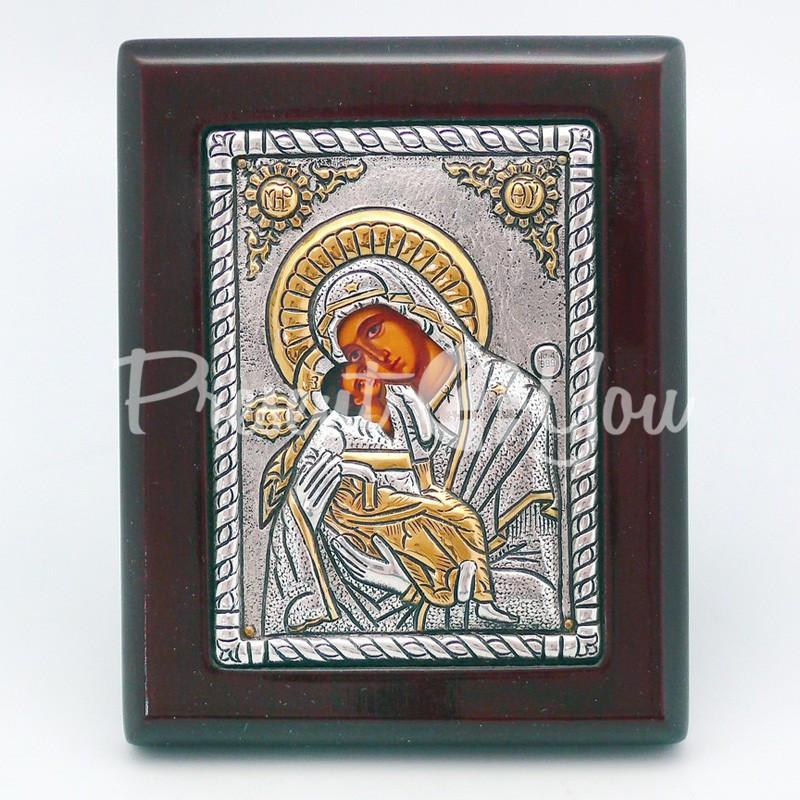 Владимирская икона Божией Матери, 12х9,5 см.