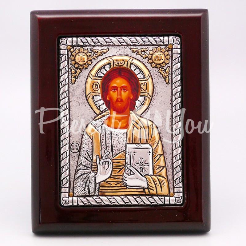 Икона «Иисус Христос», 12х9,5 см.