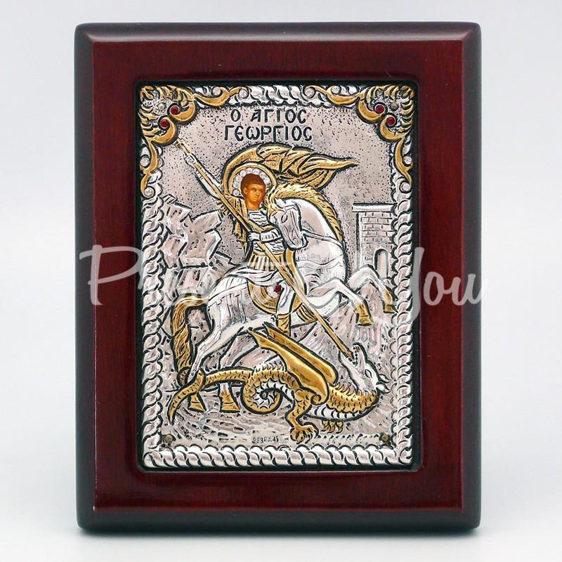 Икона «Святой Георгий Победоносец», 12х9,5 см.