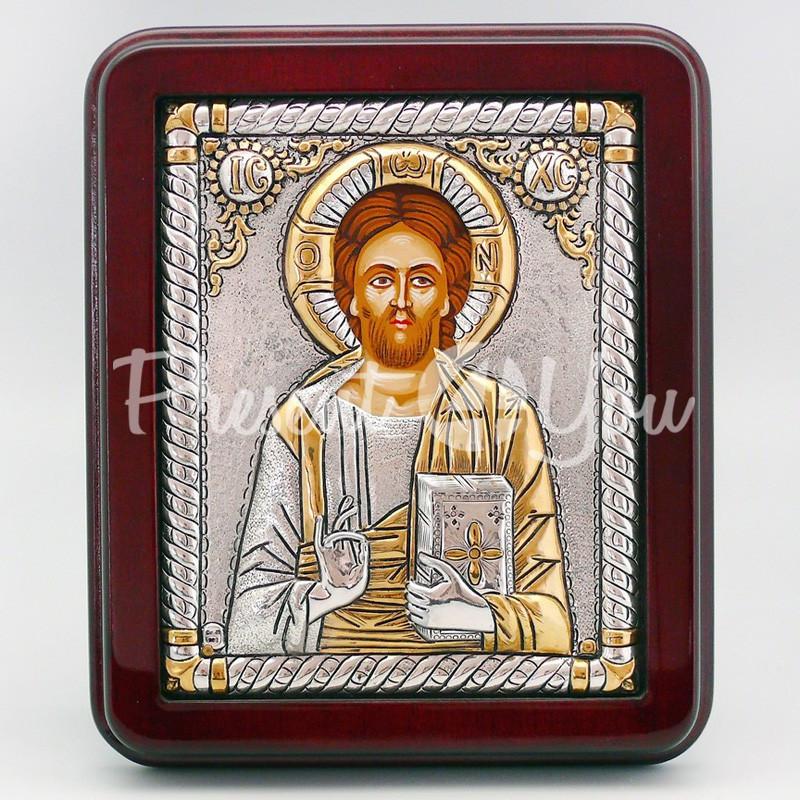 Икона «Иисус Христос», 19х16 см.