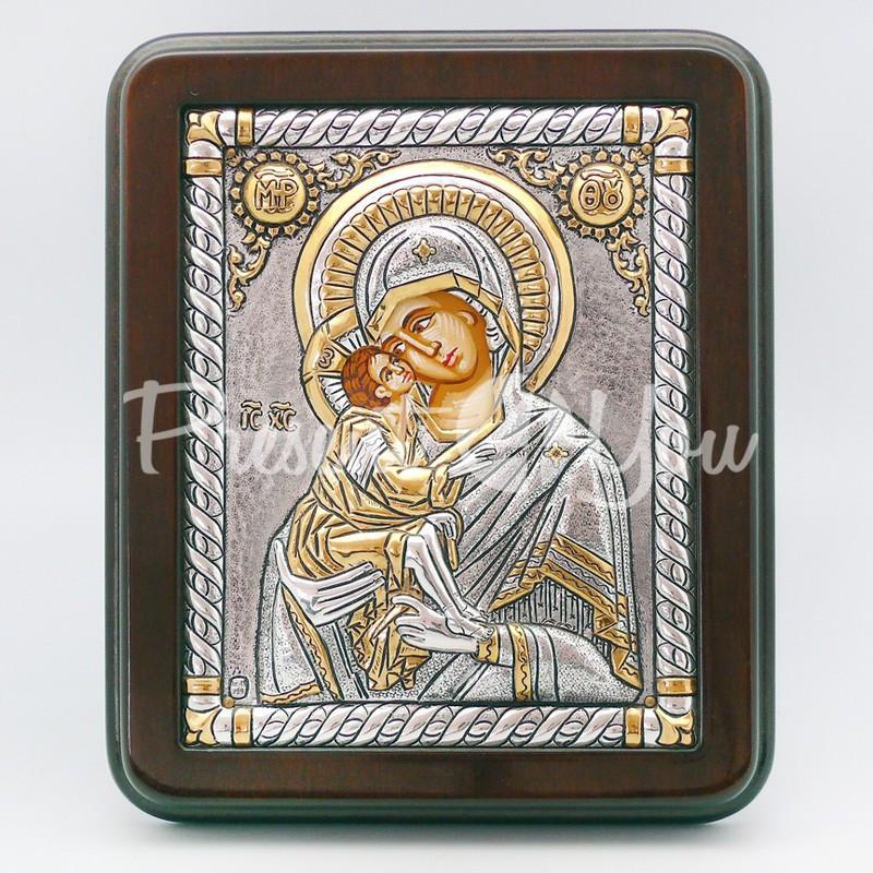 Владимирская икона Божией Матери, 19х16 см.