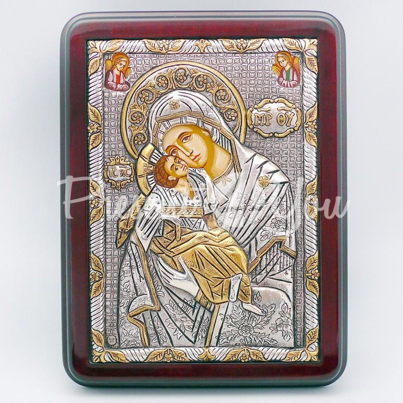 Владимирская икона Божией Матери, 19х25 см.