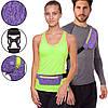 Ремінь-сумка спортивний (поясний) для бігу і велопрогулянки 1000A, фото 2