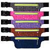 Ремінь-сумка спортивний (поясний) для бігу і велопрогулянки 1000A, фото 6