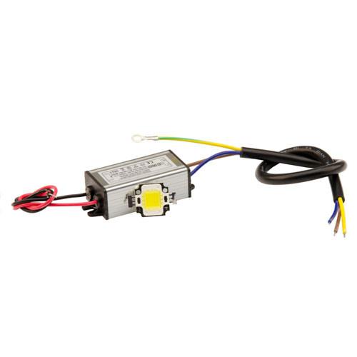 Комплект для сборки LED прожектора и уличного светильника 10Вт COB, драйвер IP65,12V