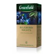Чай чорний Greenfield Blueberry Nights 25шт*1,5г 37,5г