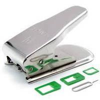 Резак Cutter Micro SIM + Nano SIM iPhone IPad HTC.