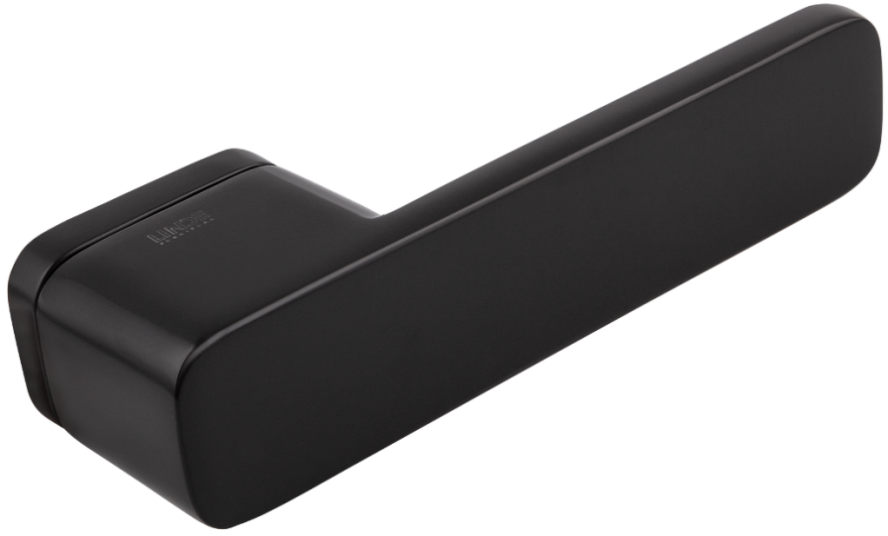 Дверні ручки MVM Z-2017 Black матовий чорний