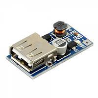 Повышающий конвертер тока +USB-разъем 0.9-5В на 5В
