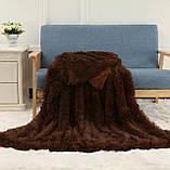Хутряне покривало з довгим ворсом Травичка, фото 8