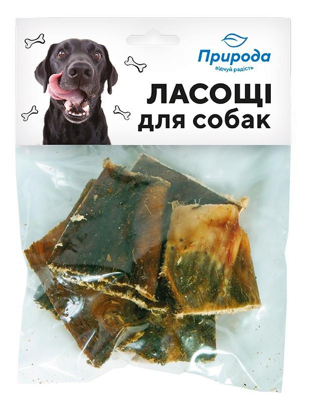 Рубец натуральное лакомство для собак Природа 30 г