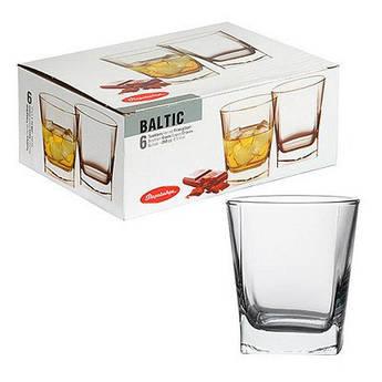 Стакани BALTIK 200мл 6 штук для соку, міцних напоїв (віскі, бренді та ін.)