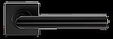 Дверные ручки MVM S-1136 Black нержавеющая сталь, фото 2