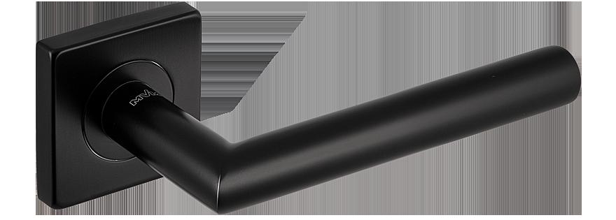 Дверні ручки MVM S-1136 Black нержавіюча сталь чорна
