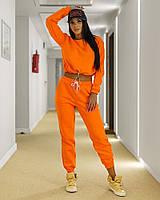 Спортивный костюм женский с укороченной кофтой, фото 1