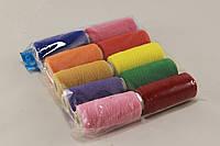 Нитка-резинка цветная 10шт. Цвет - микс