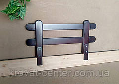 """Барьер защитный для детской кроватки из натурального дерева """"Масу"""" (цвет на выбор) 116 см., фото 3"""