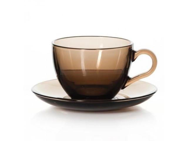 Набір чайний PASABAHCE BRONZE 12 предметів 97948
