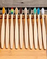 Зубная бамбуковая щетка Arivans 17 см бежевая 44-786