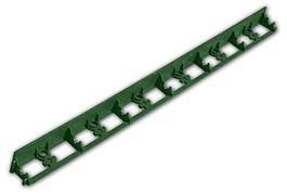 Бордюр газонный универсальный, RIM-BORD, GREEN, 45x1000мм, зеленый, OBRGR45 BRADAS POLAND