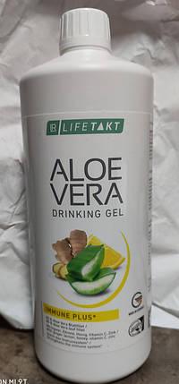 Aloe Verа гель питьевой Алоэ Вера Иммун Плюс Имбирь с  селеном 1л, LR, фото 2