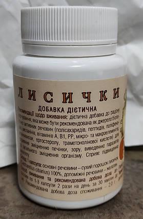 БАД Гриб лисички Фундидоктор - против глистов, паразитов, 60 капсул, фото 2