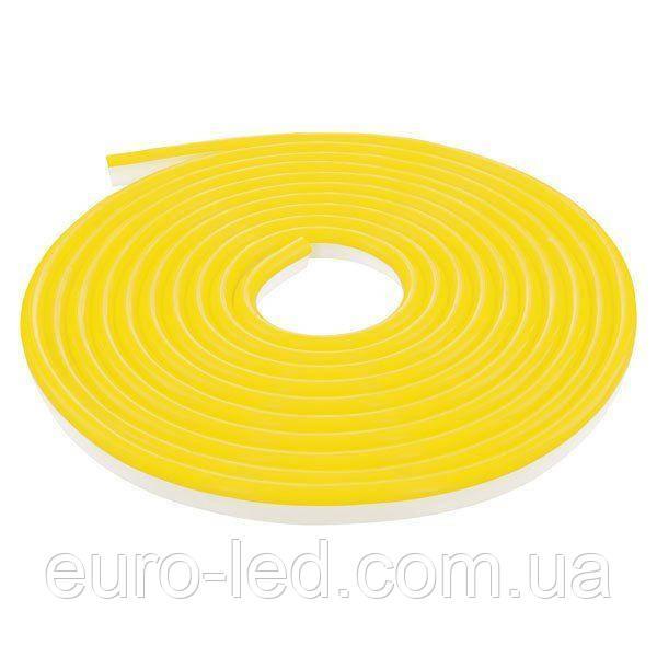 Светодиодная лента NEON 220В JL 2835-120 Y IP65 желтый, герметичная, 1м