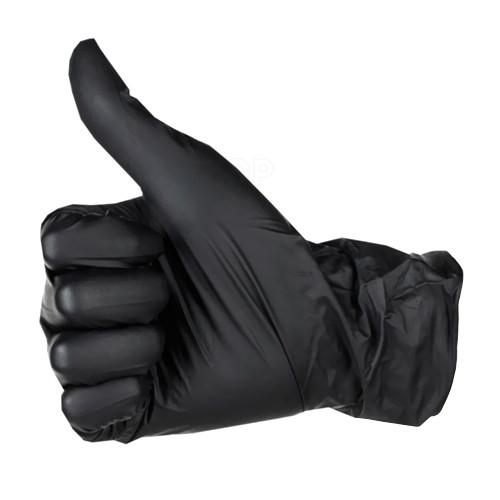 Рукавички нітрілові _ XL _ чорні