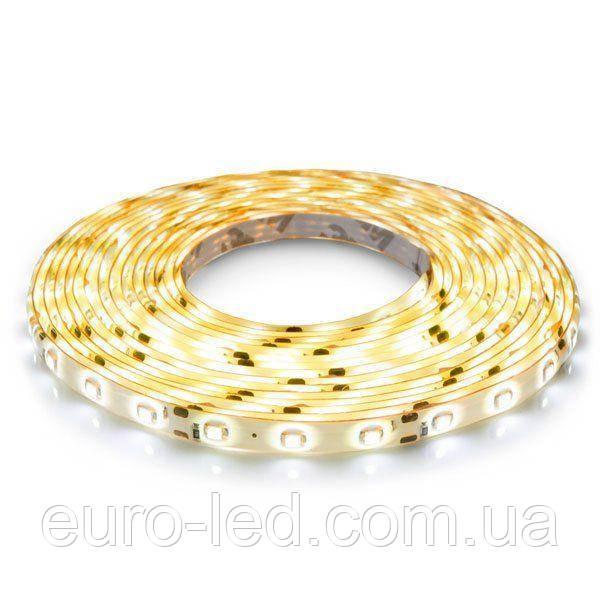 Светодиодная лента  3528-60 WW IP65 теплый белый, герметичная, 1м