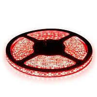Светодиодная лента  3528-120 R IP65 красный, герметичная, 1м, фото 1