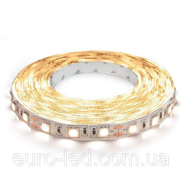 Светодиодная лента B-LED 5050-60 WW теплый белый, негерметичная, 1м