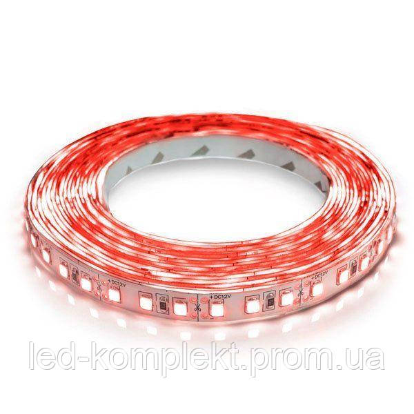 Світлодіодна стрічка 3528-120 R IP20 червоний, негерметична, 1м