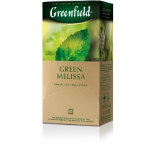 Чай Greenfield зелений Green Melisa 25шт*1.5г