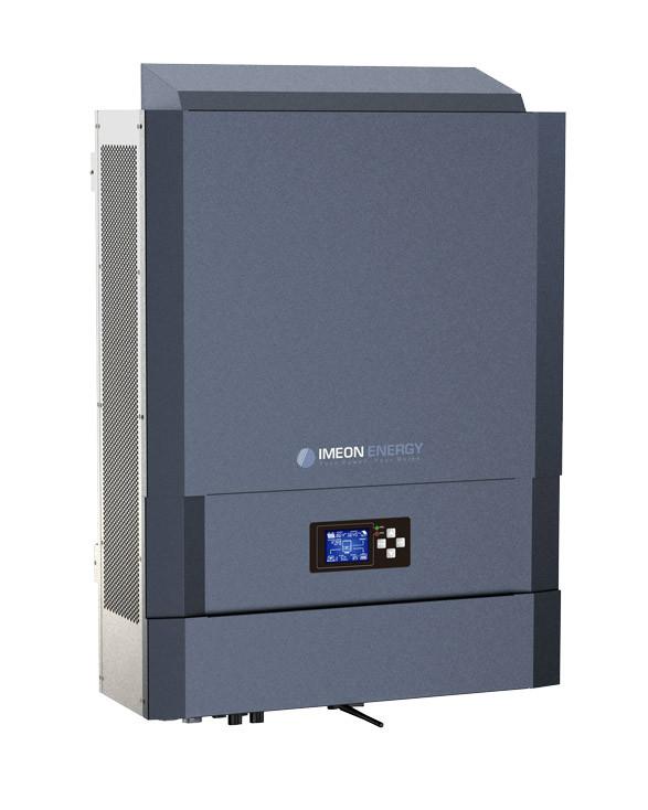 Гибридный инвертор Imeon Energy IMEON 3.6 (3 кВт 1 фазный 3 МРРТ)